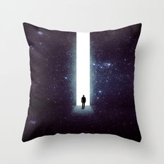 From Sky Throw Pillow