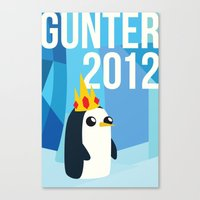 Gunter For Ice King 2012… Canvas Print
