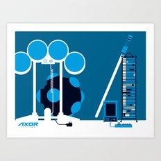 AXOR Systems - Room #2 Art Print