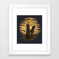 Riddick and Escape Artist Framed Art Print