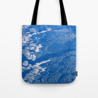 Lake Erie, Frozen Tote Bag