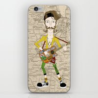 Gogol Bordello Eugene H�… iPhone & iPod Skin