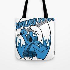 Brave Smurf Tote Bag