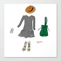 The Perfect Outfit Canvas Print