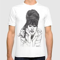 Ronnie Spector 2 Mens Fitted Tee White SMALL