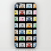 Rainbow Tapes iPhone & iPod Skin