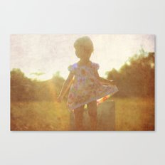 Little Silhouette Canvas Print
