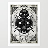 Luck Dragon Art Print