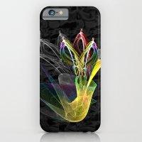 Fractal Flowers In A Vas… iPhone 6 Slim Case