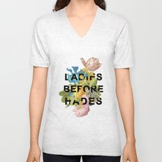 Ladies Before Hades Unisex V-Neck