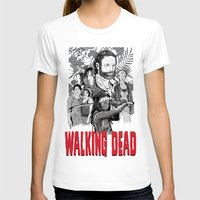 walking dead T-shirts featuring Walking Dead by Matt Fontaine