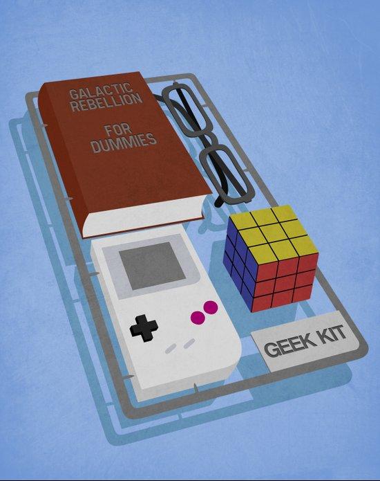 Geek Kit Art Print