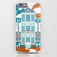 iPhone Cases featuring Festive by Jude Landry