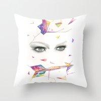 Zodiac - Sagittarius Throw Pillow