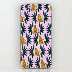 Cheetah and Leaves iPhone & iPod Skin