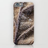 Frost Crystals On A Leaf iPhone 6 Slim Case