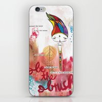Be the Brush Bhoomie iPhone & iPod Skin