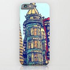North Beach, San Francisco #068 by Mark Gould Slim Case iPhone 6s