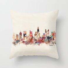 columbus ohio Throw Pillow