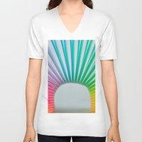 Rainbow Spring 2 Unisex V-Neck