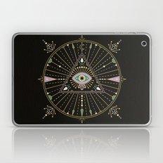 Evil Eye Mandala – Black Laptop & iPad Skin