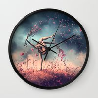 VIRGO From The Dancing Z… Wall Clock