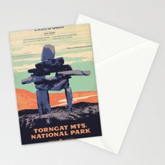 Torngat Mountains National Park Poster Stationery Cards