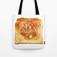 Darth Vader Toast Tote Bag