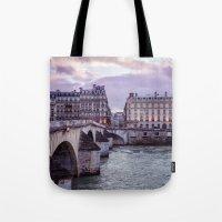 Le Pont Royal, Paris. Tote Bag