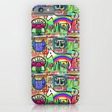 Ride a Rainbow Pony iPhone 6 Slim Case
