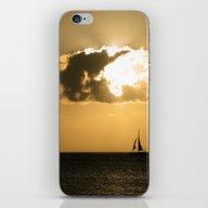 Sailboat Sunset iPhone & iPod Skin