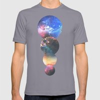 Echoes Mens Fitted Tee Slate SMALL
