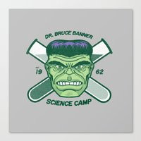 Dr. Banner Science Camp Canvas Print