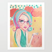 Cotton Candy Art Print