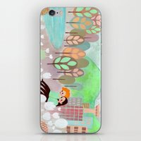 Vancouver Grey iPhone & iPod Skin