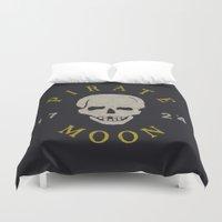 Pirate Moon Duvet Cover