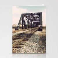 Train Bridge 1 Stationery Cards