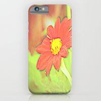 iPhone & iPod Case featuring positve negative pop daisy ~ flower Warholia by helene smith photography