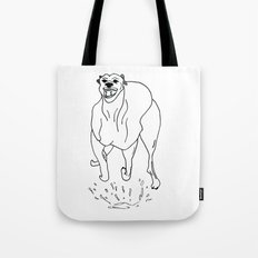Go Dog, Don't Go Tote Bag