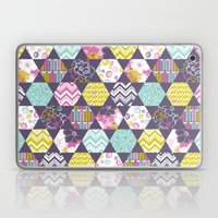 Garden Party Festive Hexi Laptop & iPad Skin