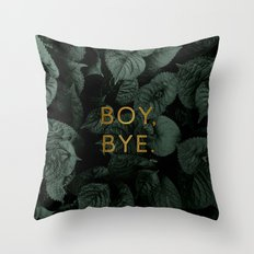 Boy, Bye - Vertical Throw Pillow