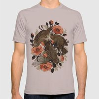 Spangled & Plumed Mens Fitted Tee Cinder SMALL