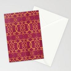 Gold Trellis Stationery Cards