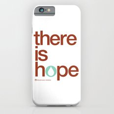 there is hope - blood:water mission  iPhone 6s Slim Case