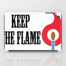 Keep the Flame iPad Case