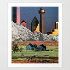 Homestead Blues Art Print