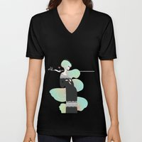Love In Black Unisex V-Neck