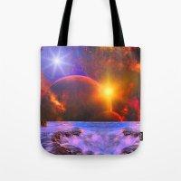 Alien coast Tote Bag