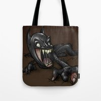 ZOMBIE BAT Tote Bag