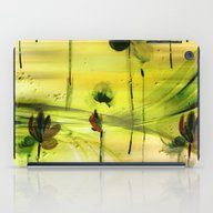 Dancing Flowers Abstract iPad Case